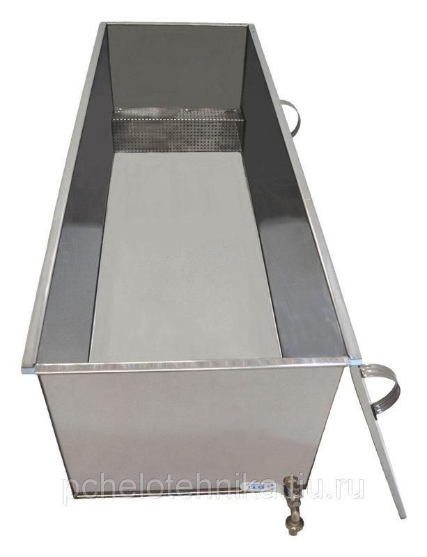 Medus dekristalizators 1,5kW (trīs iekšējas tvertnes)
