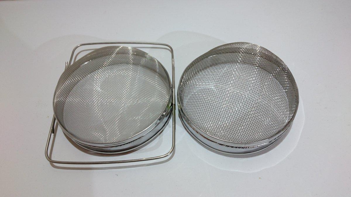 Divu sekciju filtrs 200mm (nerūsējošā tērauda)