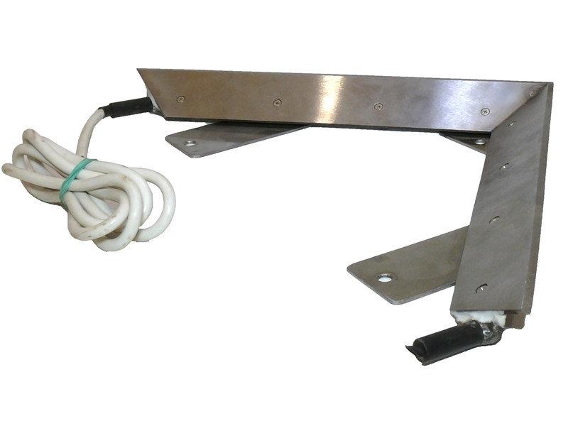 Elektriskais ķīļveida atvākojamais nazis 2x70W (nerūsējošā tērauda)