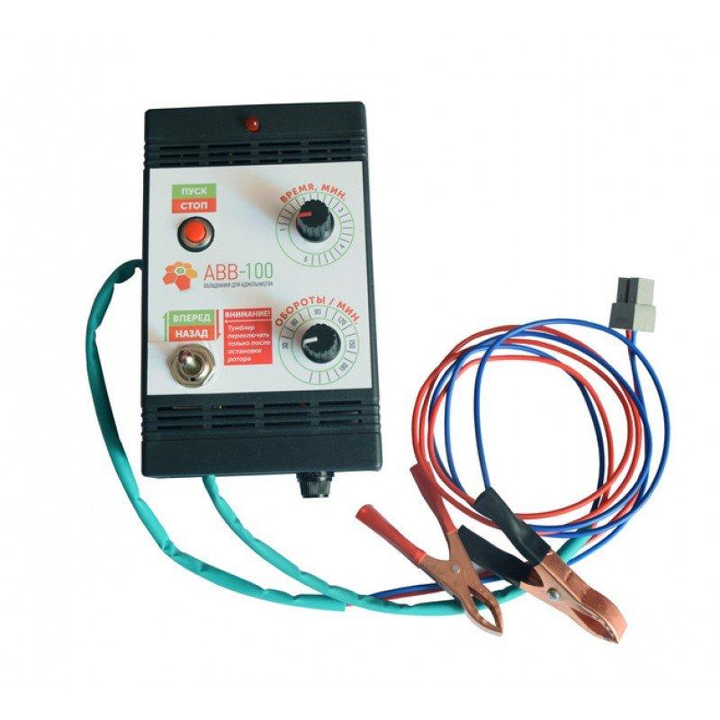 Elektromotors ar vadības bloku (mehāniski regulatori) medus sviedes piedziņai 75W
