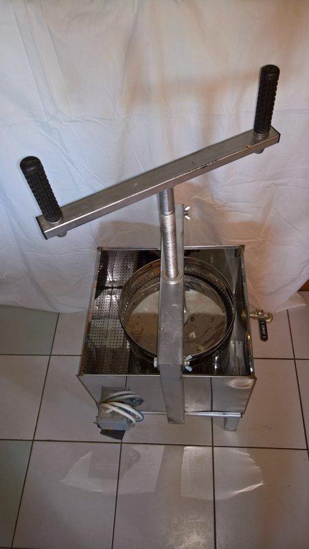 Elektriskā vaska prese (nerūsējošā tērauda)