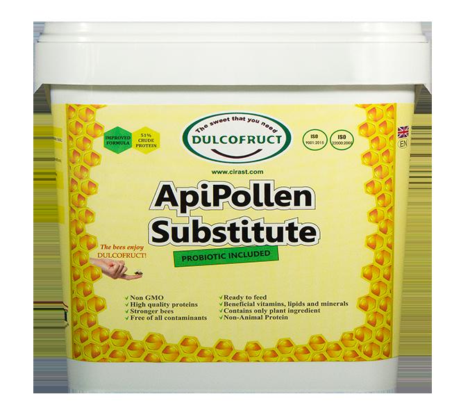 DULCOFRUCT ApiPollen Substitute - Ziedputekšņu aizstājējs 2kg