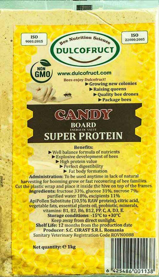 DULCOFRUCT Super proteīnu bišu kandijs 1kg