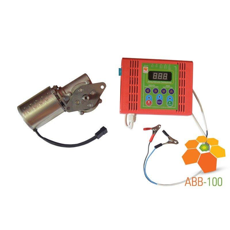 Elektromotors ar vadības bloku (elektroniska vadība) medus sviedes piedziņai 75W