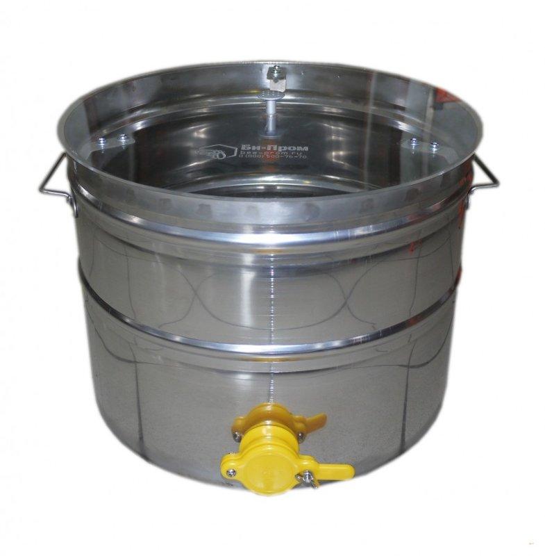 Medus nostādināšanas trauks 30L (nerūsējošā tērauda)