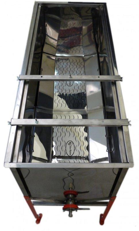 Atvākojamais galds - tvaika vaska kausētava 1,27m ar diviem groziem (nerūsējošā tērauda)