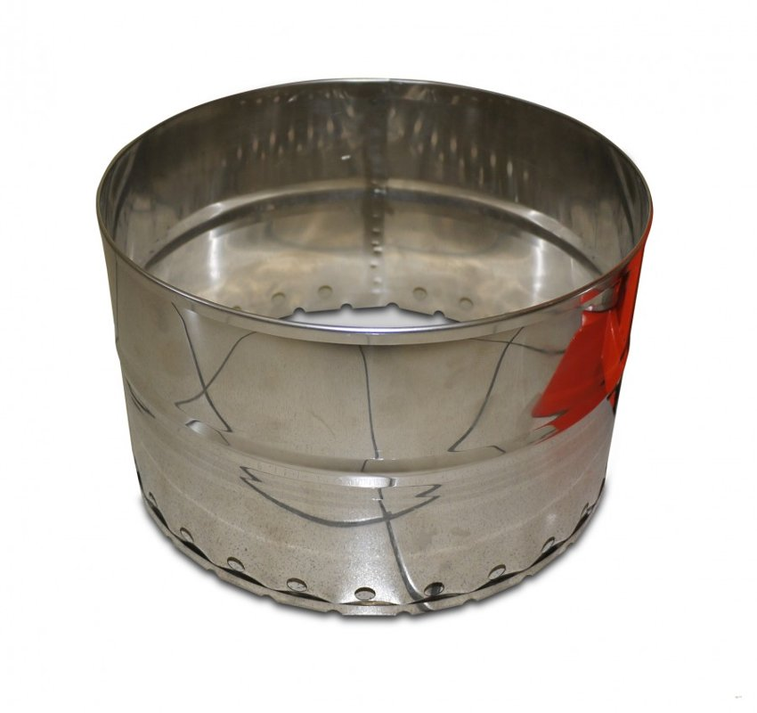 Vaska prese 20L (nerūsējošā tērauda, pielietojama arī sulu spiešanai)