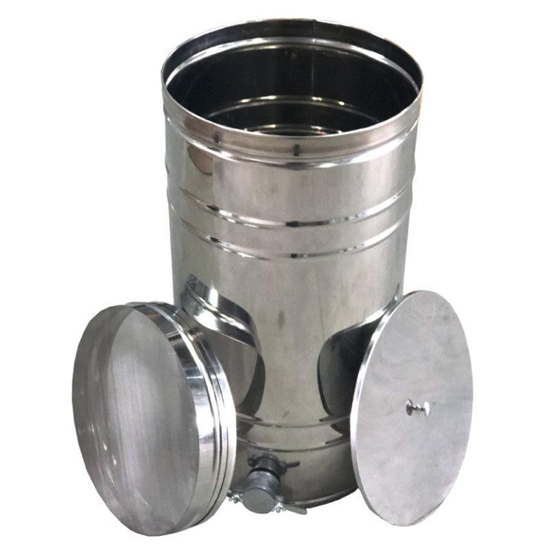Medus nostādināšanas trauks ar filtru 35L (nerūsējošā tērauda)