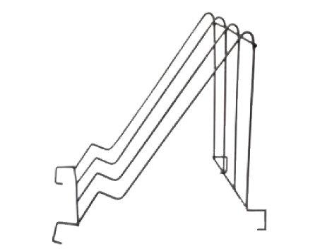 Statnis atvākojamajam galdam (nerūsējošā tērauda)