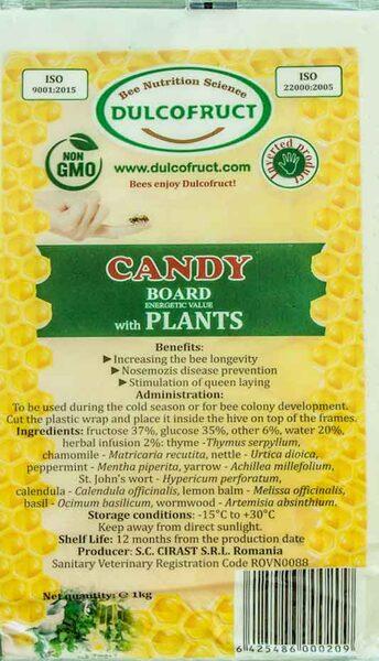 DULCOFRUCT bišu kandijs ar augiem 1kg