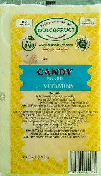 DULCOFRUCT bišu kandijs ar vitamīniem 1kg