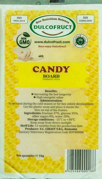 DULCOFRUCT bišu kandijs 1kg