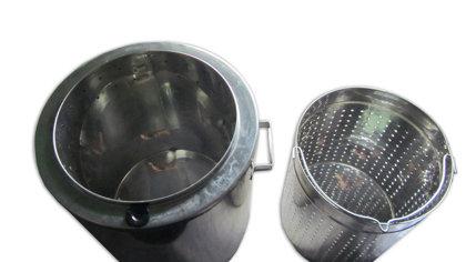 Tvaika vaska kausētava 17L (nerūsējošā tērauda)