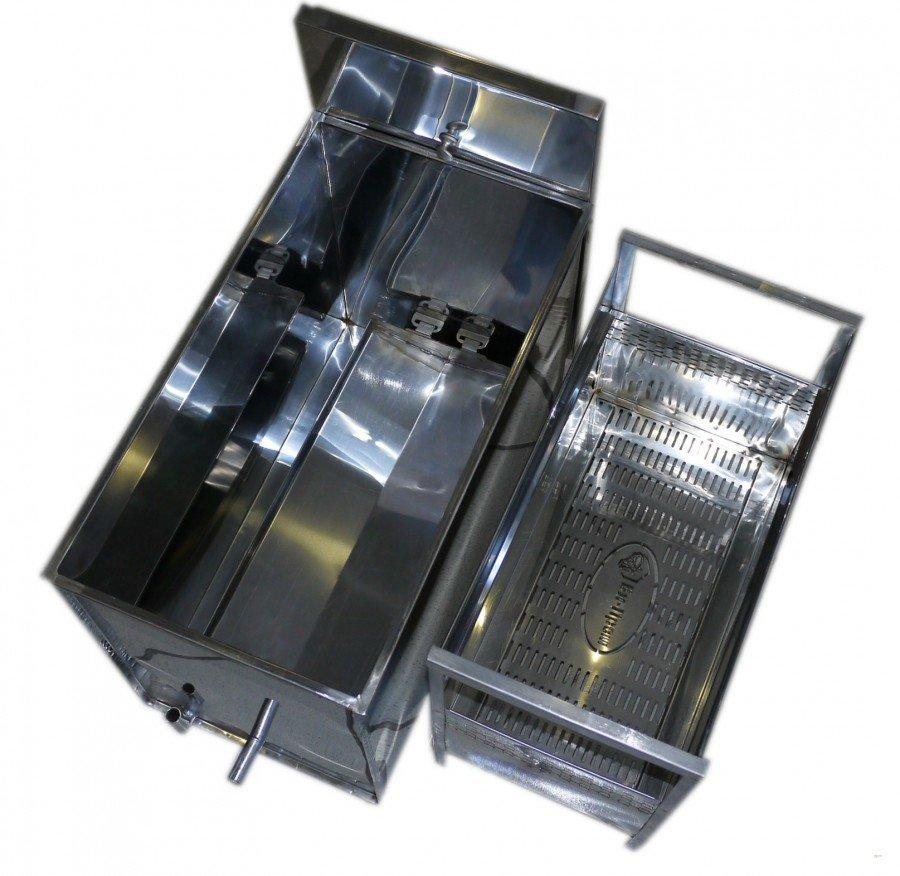 Tvaika vaska kausētava 6 rāmīšiem elektriskā (nerūsējošā tērauda)